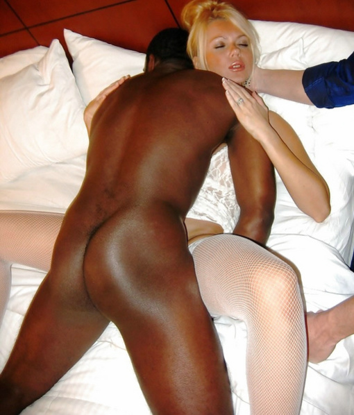 Husband Wife Suck Black Cock