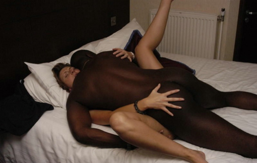 Fat White Pussy Black Cock