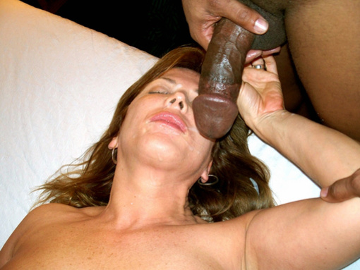 amateur wife cumming on black cock