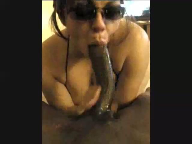 Black Girl Sucking White Dick
